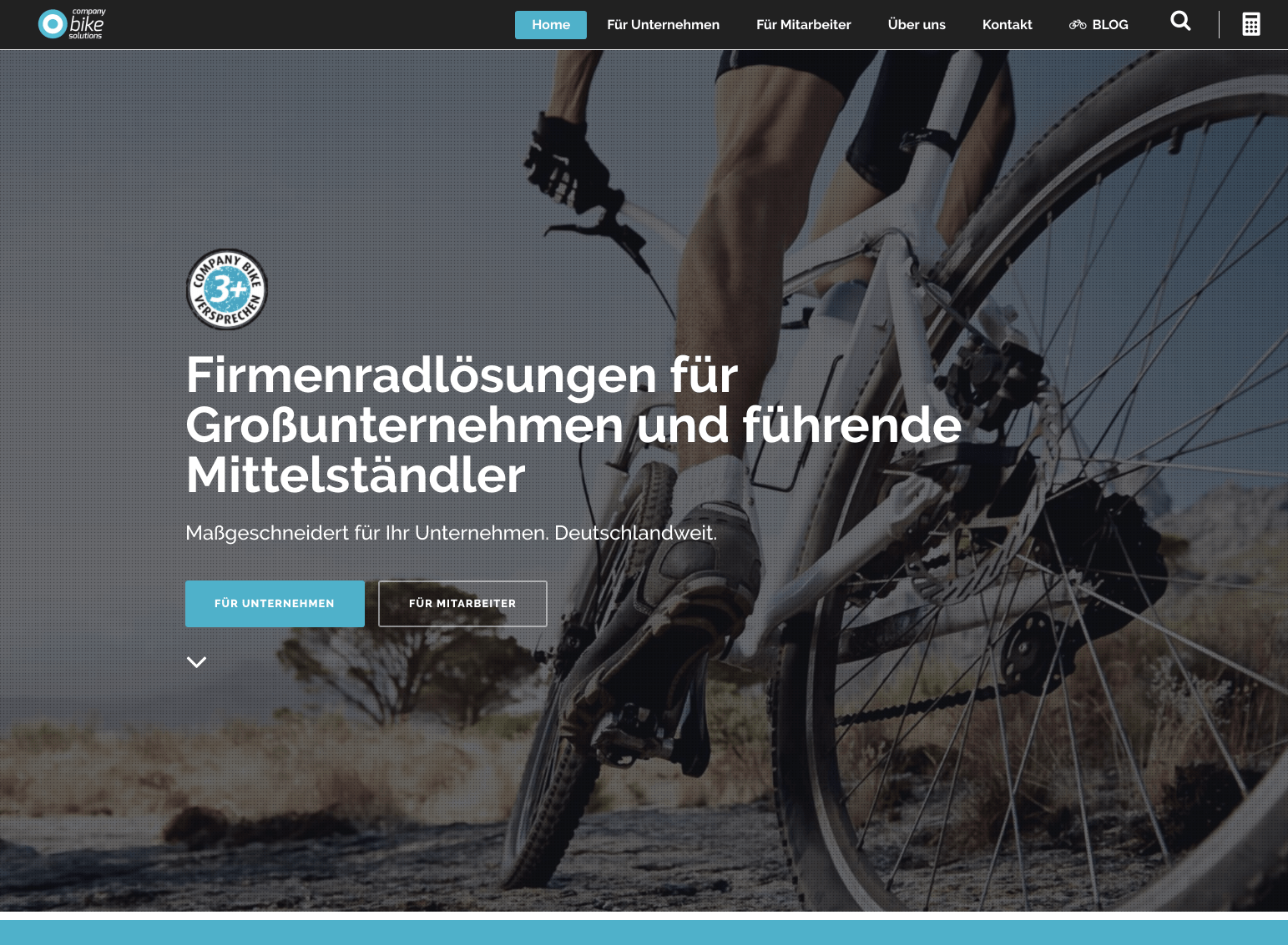 Corporate Website Relaunch für Company Bike Solutions GmbH 21