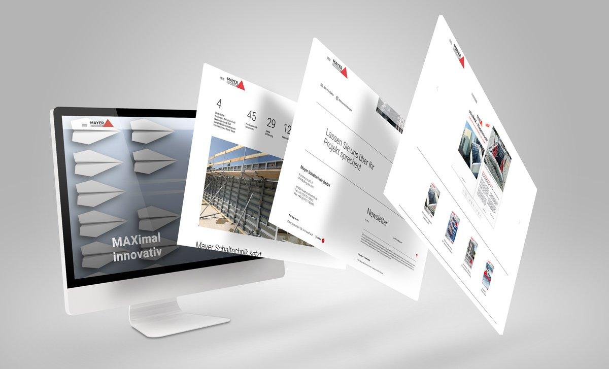 Corporate Website / CMS Relaunch für die Mayer Schaltechnik GmbH 4