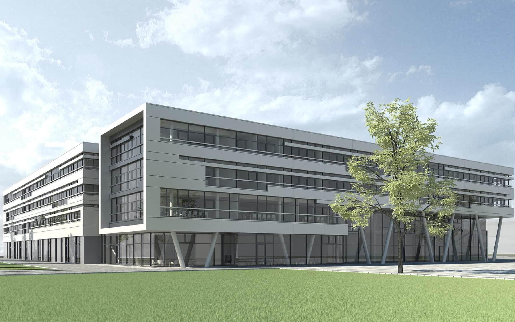 Umzug in den Innovationspark, Technologiezentrum Augsburg 1