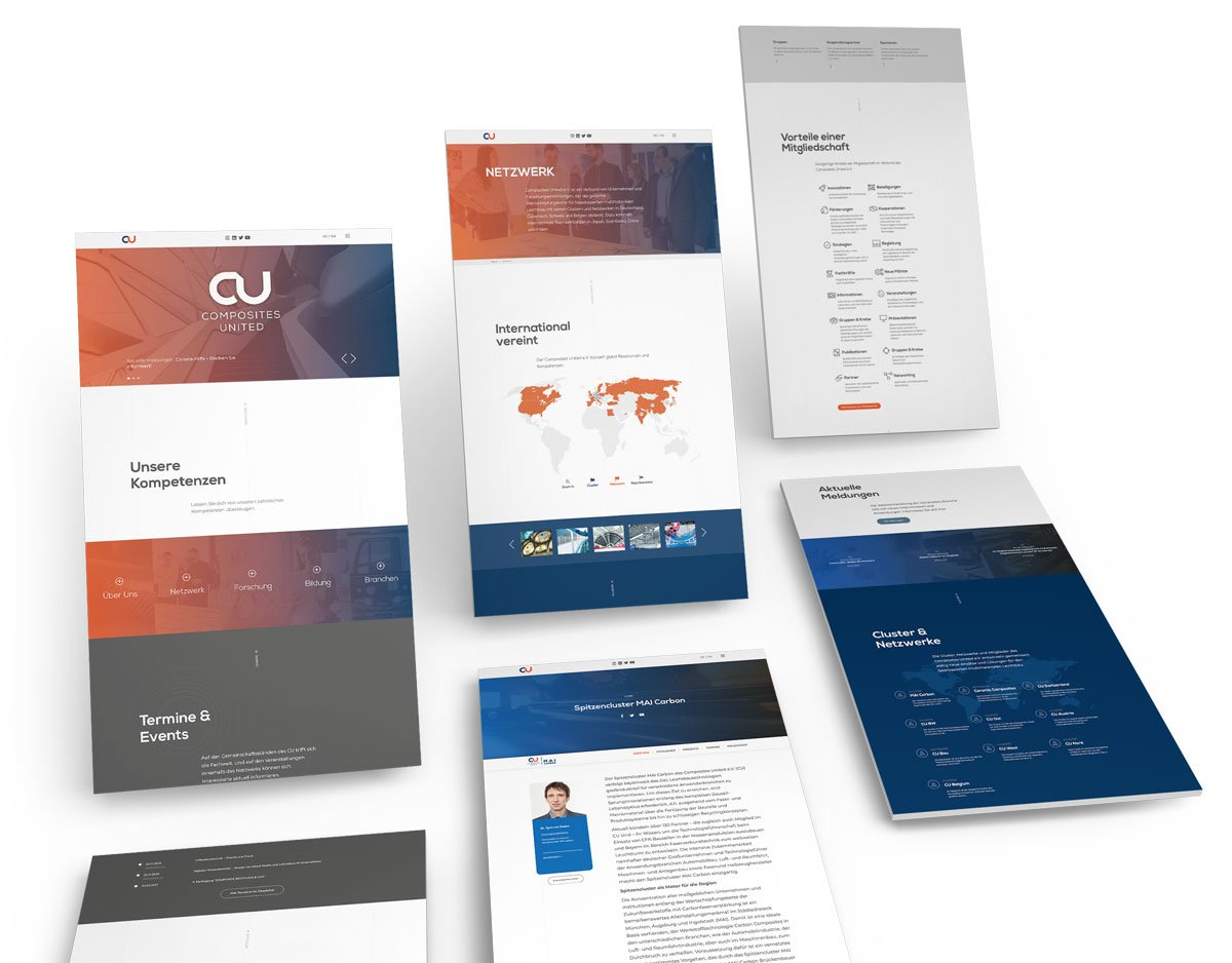Launch der neuen Corporate Website für Composites United e.V. - Customized CMS Lösung 10