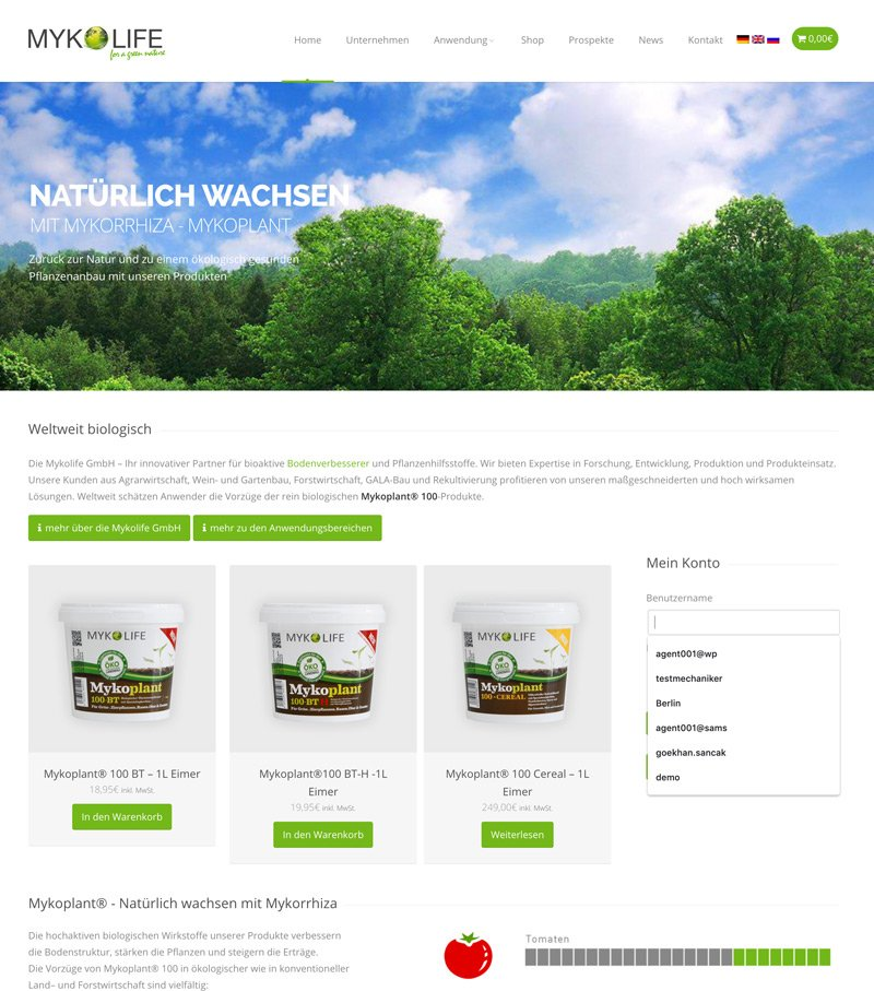 Mykolife WooCommerce Online Shop System, A-DIGITAL one