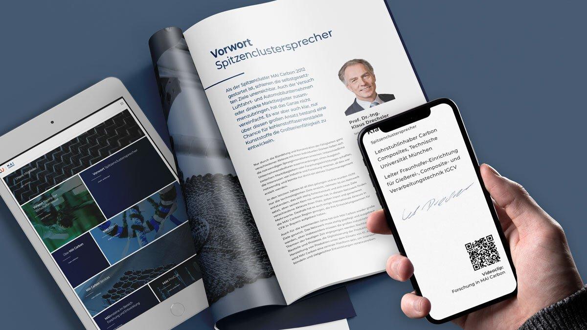 Interaktive digitale Broschüre für MAI Carbon - Print & Digital perfekt kombiniert 6
