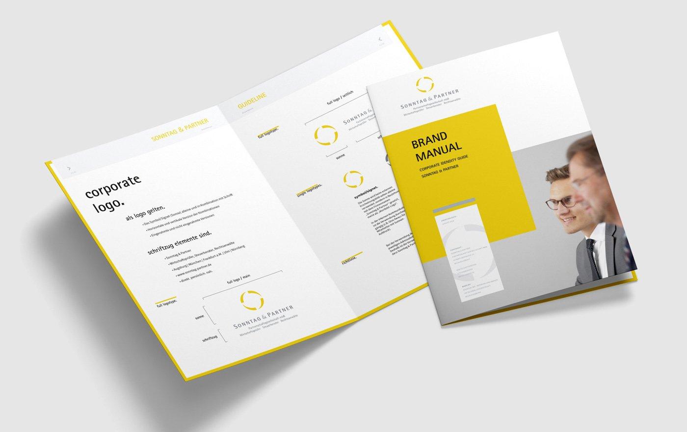 Brand, Logo und Corporate Design, Brand Manuals und Corporate Identity Guidelines 4